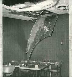1964 Press Photo Aftermath Of A Fire In A Nightclub - Spa61638