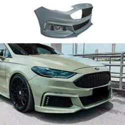 Mt Primer Black Front Bumper Bottom Protector For Ford Mondeo Fusion 2013-2016