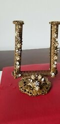 Rare Antique Victorian Filigree Ormalu And Jewels Jewerlypictures Frame