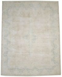 Traditional Floral Antique Muted 9and0396x12and0395 Living Dining Room Rug Oriental Carpet