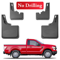 Fit 2021 Ford F150 Mud Flaps Splash Guards Fender Flares For F150 Accessories