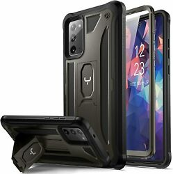 Designed For Samsung Galaxy Note 20 Case With Built In Screen Protector Kickstan