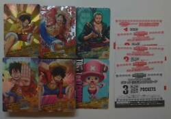 One Piece Ar Carddas 1st 2nd 3rd 4th Promo Snack Full Comp 189 Sheets Hancock