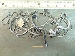 Sterling Marked .925 Silver Scrap/broken/mostly Unwearable Wholesale 72.6 Grams