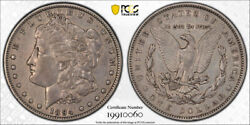 1894 1 Morgan Dollar Pcgs Xf 40 Extra Fine Key Date Cac Approved Tough