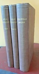 1851 3 Book Set Theory Of The Steam Engine Tredgold Weale Train Boat Pictures