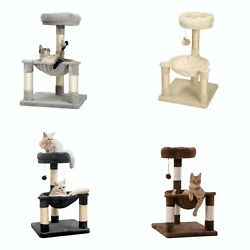 28.7quot; Cat Tree Tower Scratching Post Activity Center House Condo Kitty Furniture