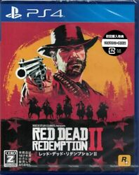 Ps4 Rockstar Games Red Dead Redemption 2 Sony Playstation 4 From Japan