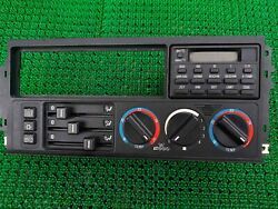 Bmw E34 E32 Front Ac Climate Control Heater Switch And On Board Computer 16 Bu