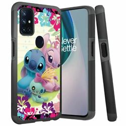 For Oneplus Nord N10 5g Case Rugged Impact Dual-layer Cover Stitch Angel Scrump