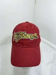 Red Canoe - Cessna Cap - Plane Heritage Red 100 Brushed Cotton Twill Cepl-01-hr