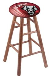 Holland Bar Stool Co. Maple Extra Tall Bar Stool In Medium Finish With New Me...