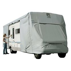 Classic Accessories Permapro Gray Class C Motorhome Trailer Cover Up To 35and039