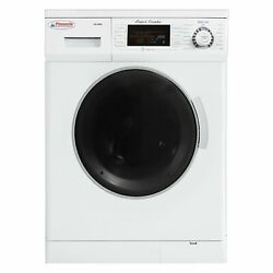 Rv Washer And Dryer Super Combo 1.5 Cu Ft White Front Load Freestanding Compact