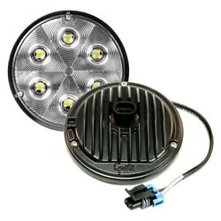Grote Whitelight Round Led Overhead Light W Packard Connector 4-2/5 Dia