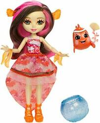 Enchantimals Clarita Clownfish Doll 6in Color-changehair And Cackle Figure