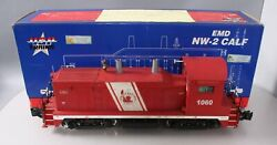 Custom Weathered Usa Trains R22033 G Jersey Central Nw-2 Calf Diesel Locomotive