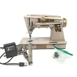 Vintage Singer Model 500a Slant-o-matic Rocketeer Sewing Machine With Power Cord