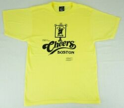Vintage 70#x27;s 80#x27;s Sneakers Cheers Boston shirt tagged large NBC TV Series thin
