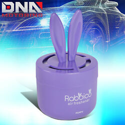 Diax Sexy Soap Scent Gel Based Rabbit Ears Can Car Home Office Air Freshener 90g