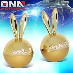 Diax White Musk Scent Rabbit Ears Car Clip On Vent Style Air Freshener 1.5gx2