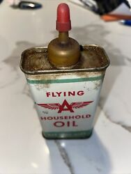 Flying A Household Non Lead Top, Handy Oil Can 1/2 Left