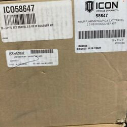 Icon Vehicle Dynamics Front Extended Travel Coilover Kit Toyota | Lexua