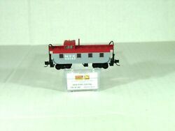Micro Trains Line N Scale 36' Reveted Steel Caboose Offset Cupola Nyc 10000440