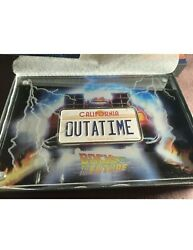 2020 Niue Back To The Future License Plate 2 Oz Silver Colored Coin