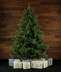 Fraser Hill Farm Artificial Christmas Tree, 7.5-ft. Realistic Foxtail Pine,
