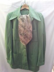 Jack Lord Estate 1970s Hawaii 5-0 Tvpersonal Wardrobe Anson Suit Pants Scarf