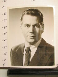 Abc Tv Show Photo 1950s Oss O.s.s Ron Randall Wwii Cia Serious