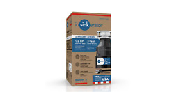 Insinkerator Badger 5 1/2 Hp Continuous Feed Garbage Disposal With Power Cord