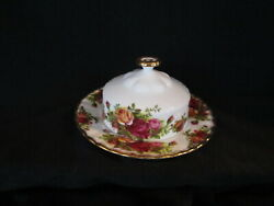 Royal Albert - Old Country Roses - Covered Butter Dish