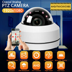 Hd 1080p Ptz Camera 2.5 Inch Ir Ahd Auto Iris Night Vision Dome Wired Security