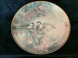Franklin Collectors Plate Somg Of The Cherry Blossom By John Cheng