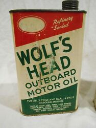 Wolfand039s Head Outboard Motor Oil-full And Or Near Full