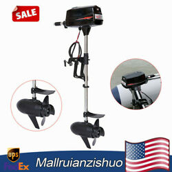 Hangkai 10hp High Power Electric Outboard Motor Brushless Fishing Boat Engine Us