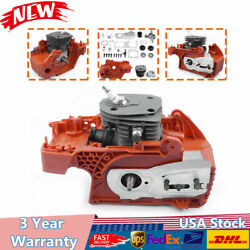 Crankcase Piston Cylinder Motor Assembly 44mm For Husqvarna 350 340 345 Chainsaw