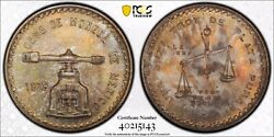 1978 Mexico Silver Onza Pcgs Ms66+. Type 1 Wide Key Date.population 1/0 Finest