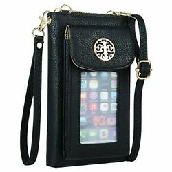 Cell Phone Purse Crossbody for Women Wallet with Phone Holder $27.62