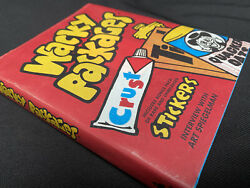 2008 Topps Wacky Packages Book With Bonus Rare Stickers 1st Edition