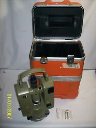 Kern E20 Electronic Theodolite And Case Unable To Test No Battery - Free Shipping
