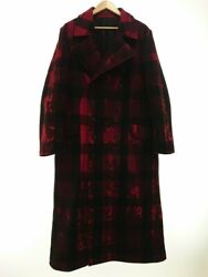 Secondhand Yohji Yamamoto Pour Homme 2020aw/coat/hr-c13-127/2/wool/red/total