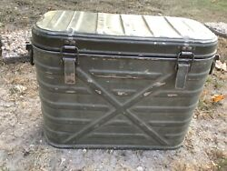 Vtg Insulated Food Container Cooler Landers Frary Clark 1959 Us Army Military