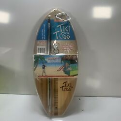 Tiki Toss Original Hook And Ring Game 100 Bamboo Deluxe Edition
