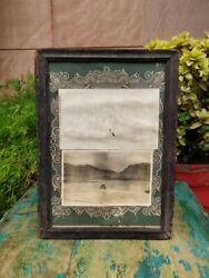 Vintage Collectible Photograph Picture Print Framed Wall Hanging Wall Decor