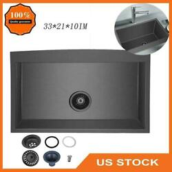 Farmhouse Sink Apron Front Stainless Steel 18 Gauge Single Bowl Kitchen New