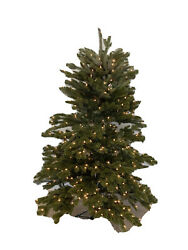 Balsam Hill Fraser Fir New Open Box 5.5' Tree With Clear Lights 599 Excellent T