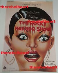 Rocky Horror Show 1974 Roxy Cast Album Us Promo Poster - Rolled - Tim Curry Rare